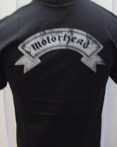motorhead logo back