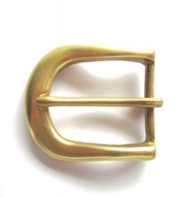 solid brass pin belt buckle