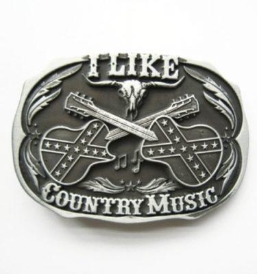 I like country music belt buckle
