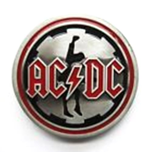 AC DC Belt Buckle with Gift Box